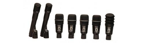Mikrofóny pre bicie / perkusie